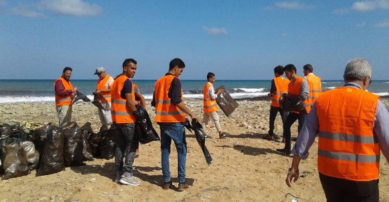 حملة بمناسبة اليوم العالمي لحملة البحر والشمس الدولية