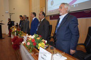 افتتاح فعاليات المؤتمر الوطني السابع لمواد البناء والهندسة الإنشائية.