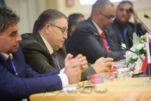 افتتاح مؤتمرالحوكمة في المؤسسات الليبية:الواقع والطموح بجامعة عمر المختار