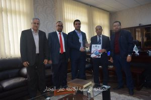 مؤتمر الحوكمة في المؤسسات الليبية يكرم/د.رئيس الجامعة والسيد/د.وكيل الشؤون العلمية.