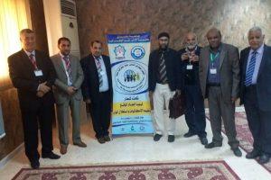مشاركة عدد من أعضاء هيئة التدريس بجامعة عمر المختار في المؤتمر الجغرافي الثاني حول جغرافية ليبيا.