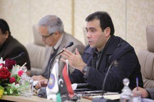 اجتماع مجلس جامعة عمر المختار.