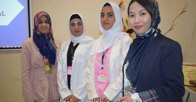 افتتاح معرض كلية التمريض ضمن فعاليات مهرجان المختار السنوي للثقافة والعلوم2019 م.