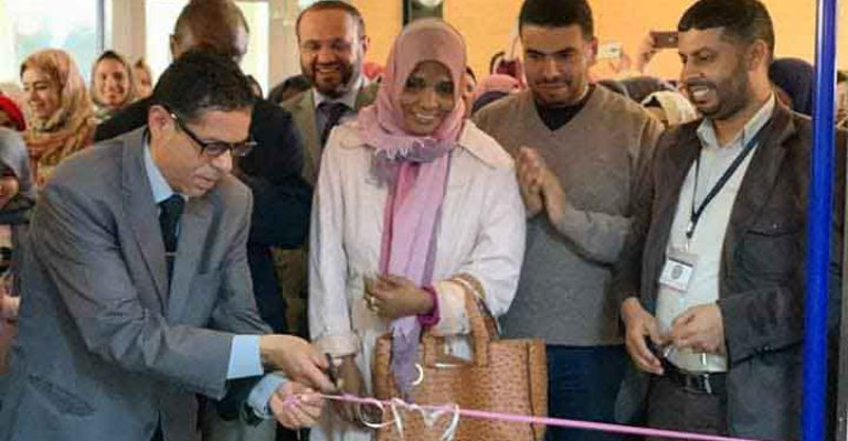 افتتاح معرض قسم الإحياء بكلية العلوم ضمن فعاليات مهرجان المختار السنوي للثقافة والعلوم2019م.