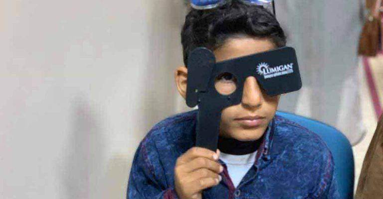 فعاليات اليوم الأول لمعرض وأنشطة قسم العيون بمهرجان المختار للثقافة والعلوم 2019م.