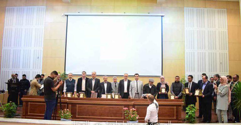 برنامج التكريم في اختتام مهرجان المختار السنوي للثقافة والعلوم 2019م في نسخته الأولى.