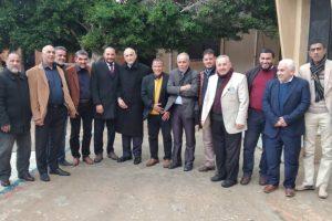 زيارة السيد/ أ.د. رئيس الجامعة لفرع جامعة عمر المختار درنة