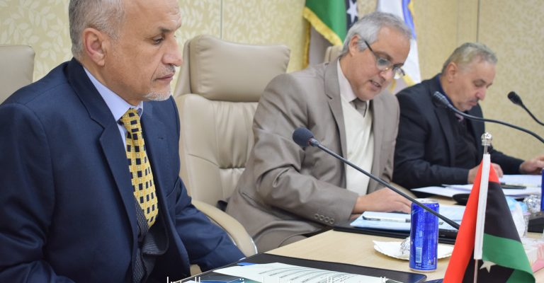 الاجتماع الثاني لمجلس جامعة عمر المختار