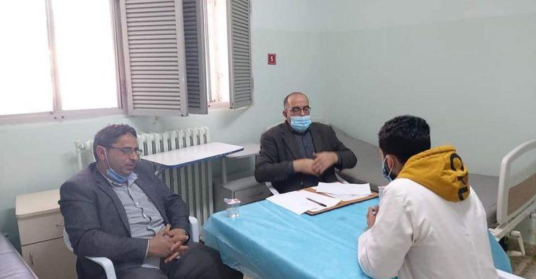 انطلاق الامتحان الشفهي والكلينك (الدور الثاني) لمادة الجراحة العامة لسنة خامسة