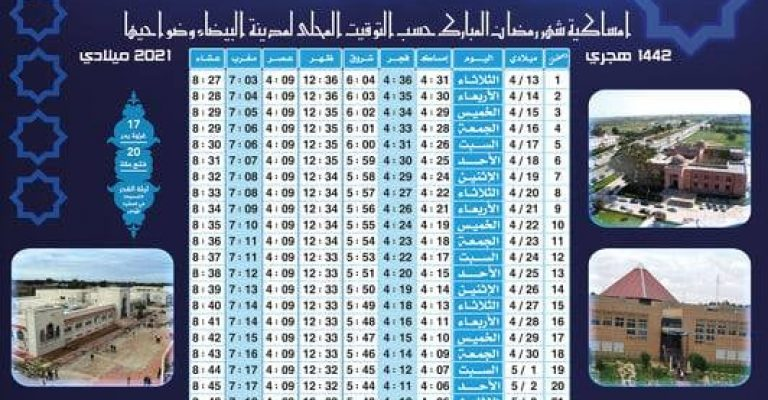 الثلاثاء أول أيام شهر رمضان من عام 1442 هجري الموافق 13 .أبريل 2021م