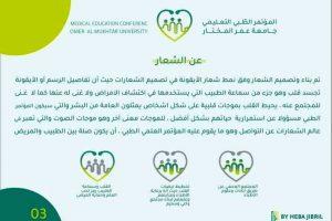 اختيار شعار المؤتمر الطبي الطلابي التعليمي الأول