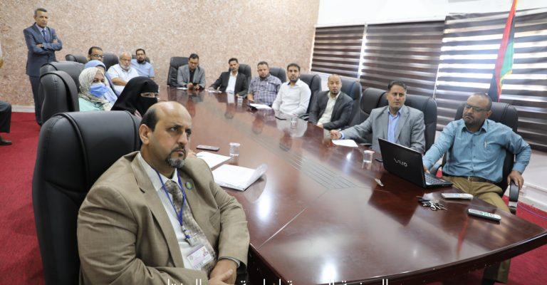 مكتب التعاون الدولي ينظم ورشة عمل بالشراكة مع جامعة طرابلس