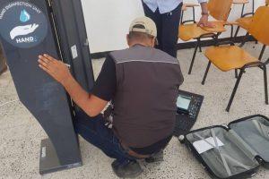 رفع كفاءة القدرة التشغيلية لأجهزة التعقيم بمقرات الجامعة