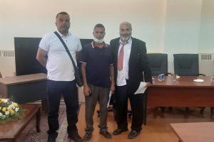 اجتماع مدير إدارة النشاط الجامعي بوزارة التعليم العالي بالسادة مديري إدارات النشاط بالجامعات.