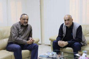 لقاء السيد/أ.د. رئيس الجامعة مع السيد/د. رئيس مجلس التخطيط الوطنى