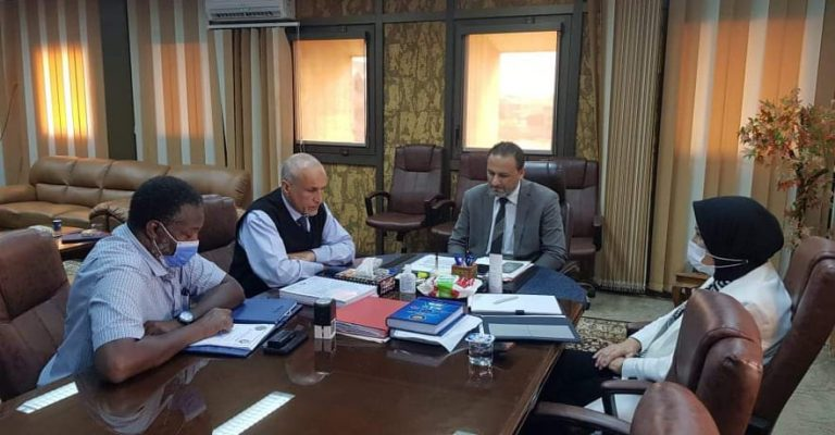 اجتماع جامعة عمر المختار وجامعة بنغازي