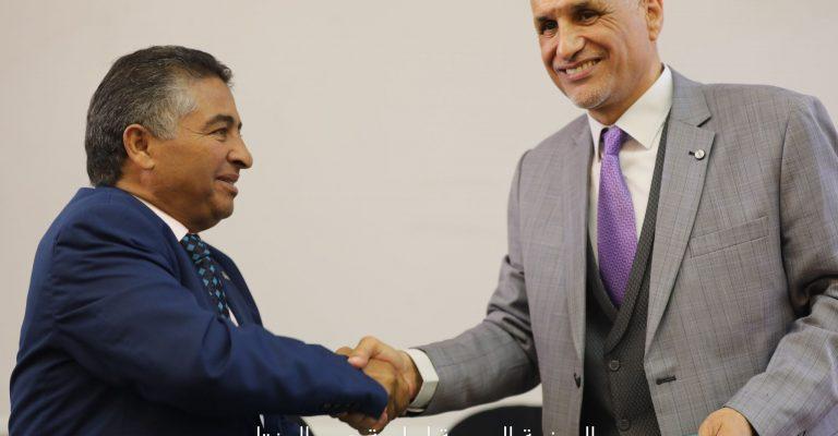 اتفاقية تعاون علمي مع جامعة صبراتة