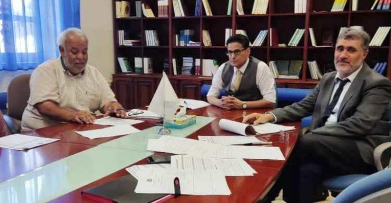 اجتماع لجنة شؤون أعضاء هيئة التدريس بالجامعة